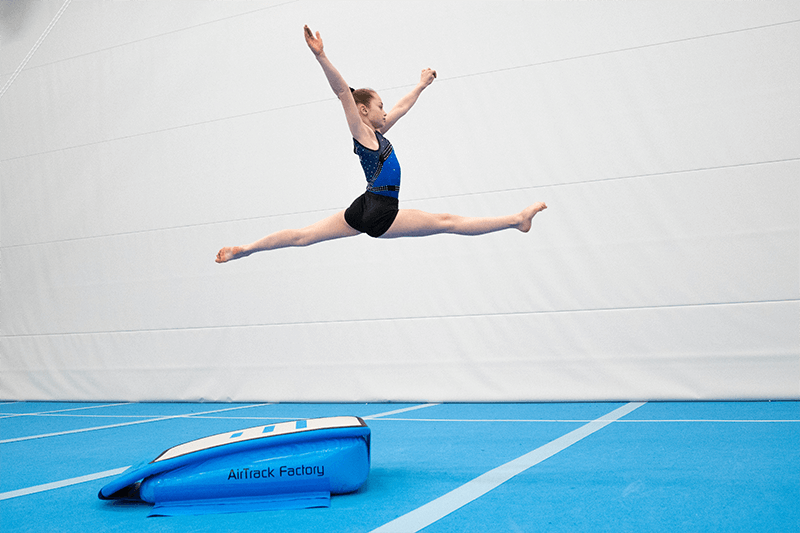 Zephyr 8 Inflatable Mat by AirTrack™  We Sell Mats™ Zephyr Airmat